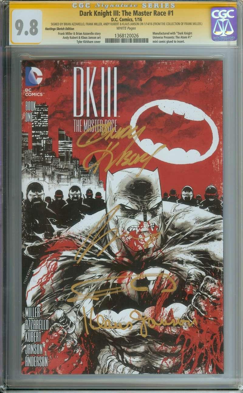 Batman Dark Knight III The Master Race #1 Comic Con Box Variant DC Comics