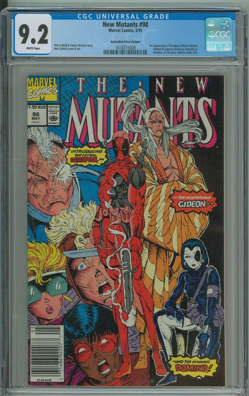 Comic Grab Bag Variant Covers Spider-Man 300 362 New Mutants 98 X-Men 266 282
